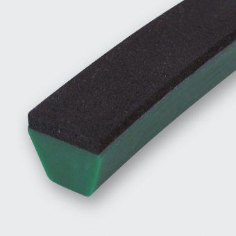 Porol schwarz Zellkautschuk
