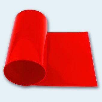 Flachband 140 mm PUtex rot