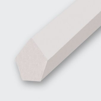 Spitzkeilriemen PU 80 A transparent (Form 2 ohne Nut)