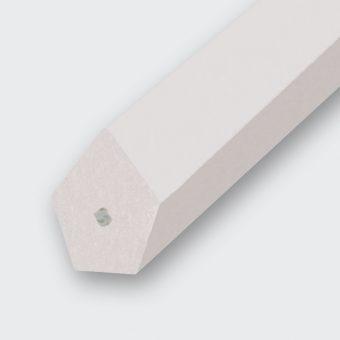 Spitzkeilriemen PU 80 A transparent, Zugträger Polyester (Form 2 ohne Nut)