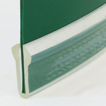 Gurtkante 13 x 26 mm, transparent