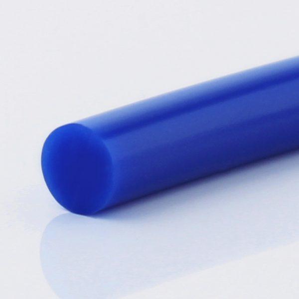 Rundriemen PU 70 A ultramarinblau glatt