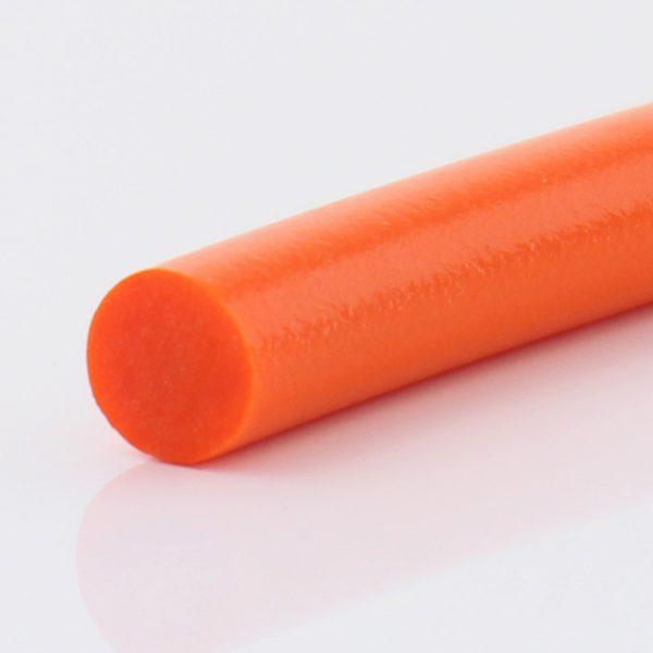 Rundriemen PU 75 A PLUS orange mattiert