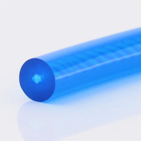 PU 85 A saphirblau glatt, Zugträger Polyester