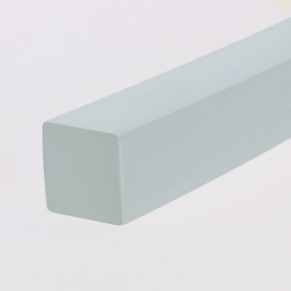 Quadrat-Profil PU 85 A milchig glatt