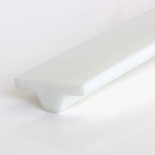 T-Profil / T-Profile, PU 85 A, weiß / white (20 x 8 mm)