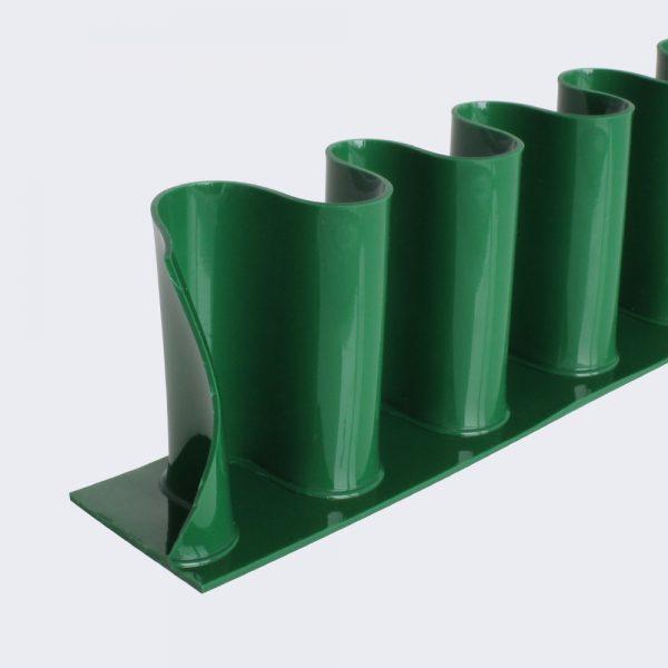 Wellenkante PU 80 A grün