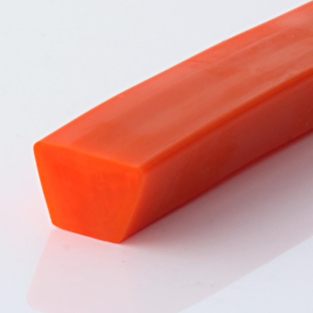 Keilriemen PU 80 A orange glatt