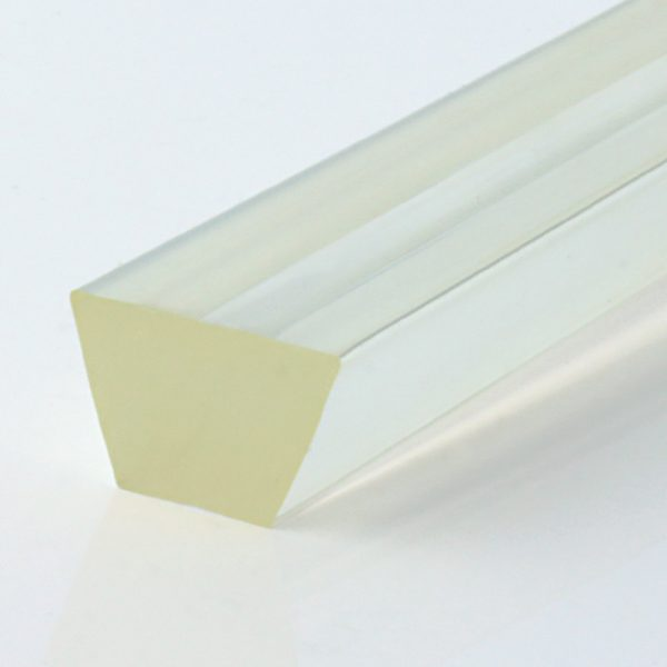Keilriemen PU 80 A transparent glatt