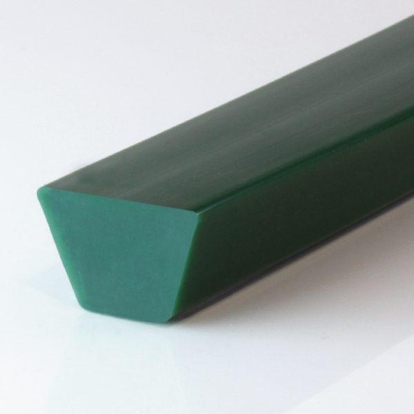 Keilriemen PU 85 A grün glatt