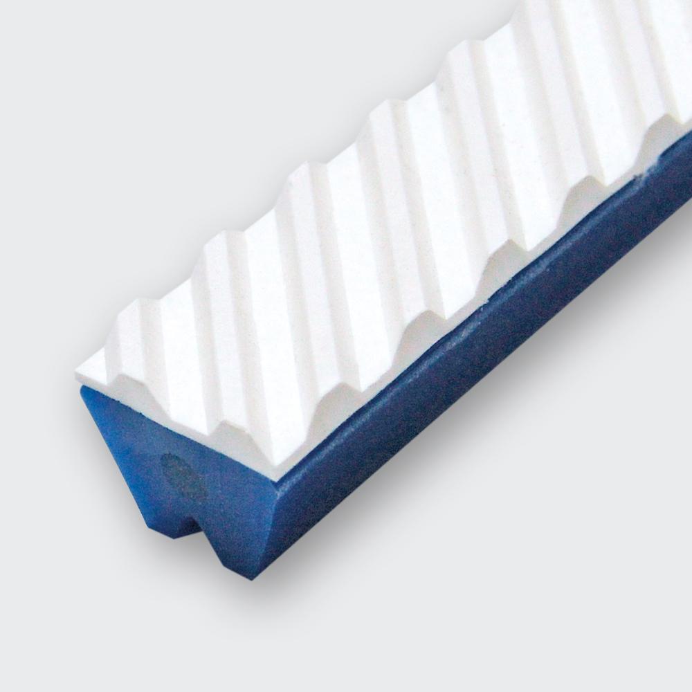 FISCHGRÄT BESCHICHTUNG PVC WEISS CA. 60° SHORE A (FDA)