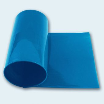 Flachband / Flat belt, 140mm, capriblau / capri blue, SAFE