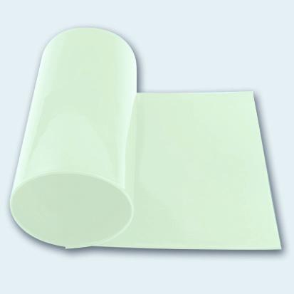 Flachband PU 65 A transparent glatt