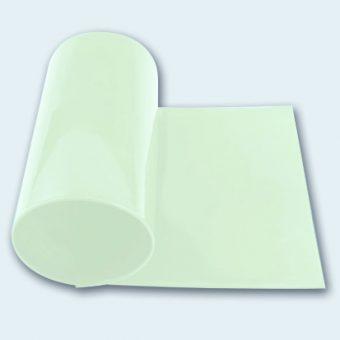 Flachband PU 60 A transparent glatt