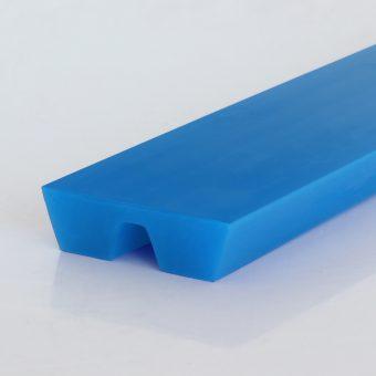 Parallelkeilriemen / Twin-V-belt, PU75A, himmelblau / sky blue, glatt / smooth