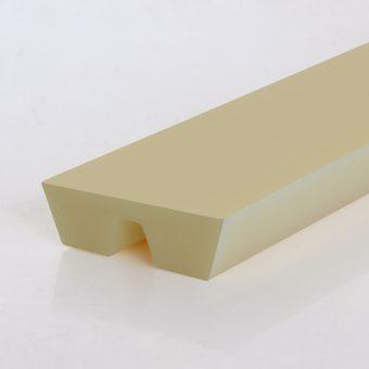Parallelkeilriemen / Twin-V-belt, PU95A, beige, 3L