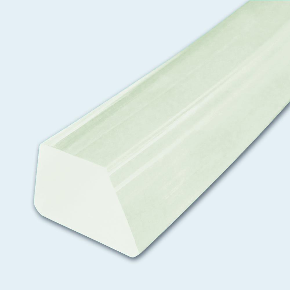 Keilleiste PU70A transparent glatt