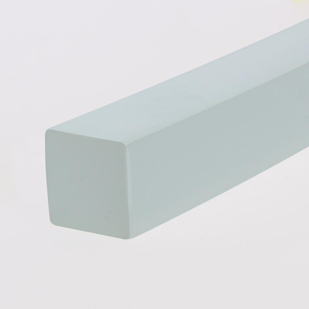 Quadrat-Profil PU85A milchig glatt