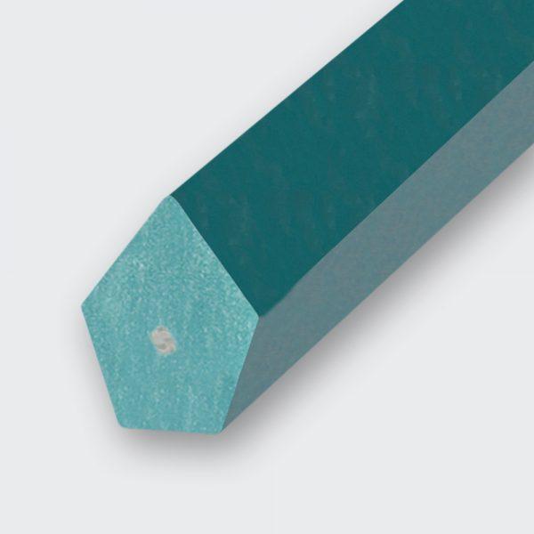 Spitzkeilriemen PU85A grün, Zugträger Polyester (Form 2)