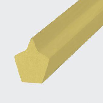 Spitzkeilriemen Polyester TPE40D beige (Form 1)