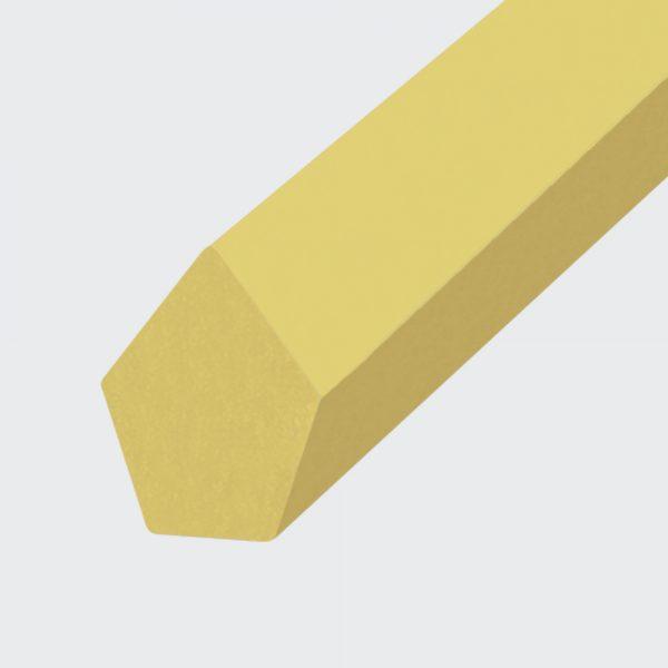 Spitzkeilriemen Polyester TPE40D beige (Form 2)