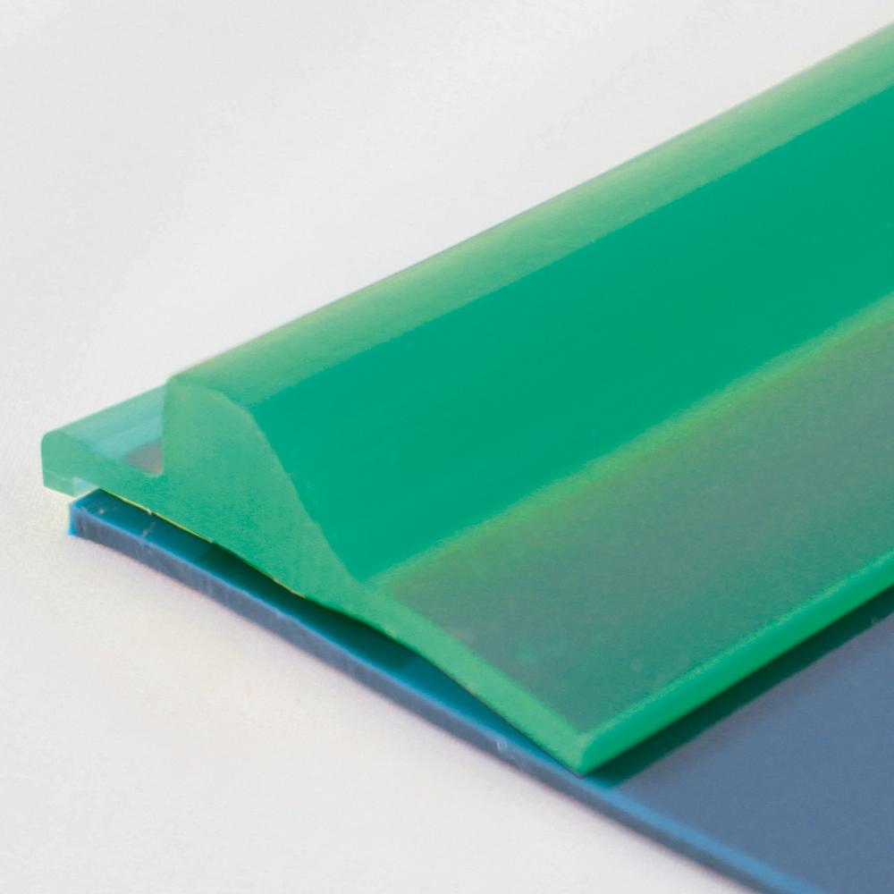 Gurtkante 3,5 x 37 mm, smaragdgrün