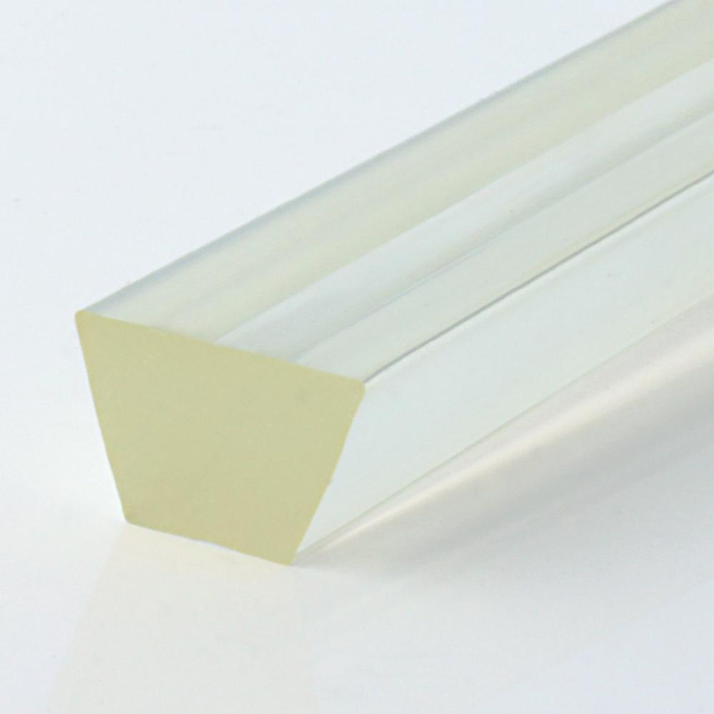 Keilriemen PU80A transparent glatt