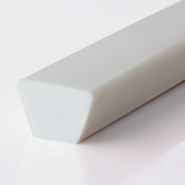 Keilriemen PU90A weiß glatt