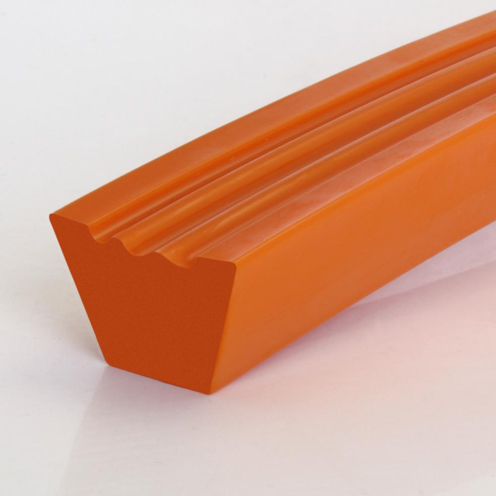 Keilriemen PU80A orange 3-rillig