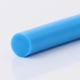 Rundriemen PU75A himmelblau glatt