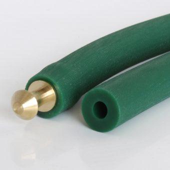 Hohlrundriemen PU85A grün geraut