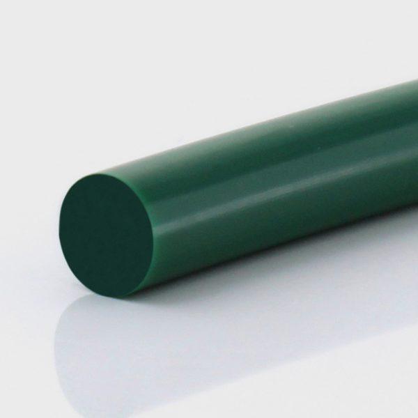 Rundriemen PU85A grün glatt
