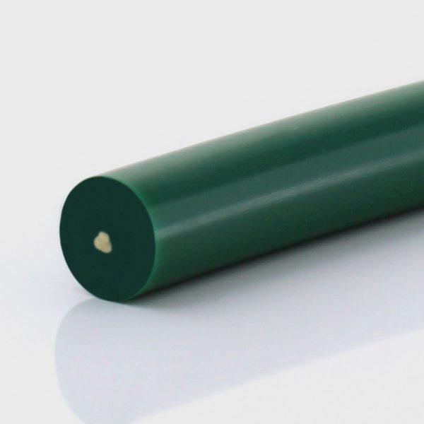 Rundriemen PU85A grün glatt, Zugträger Aramid