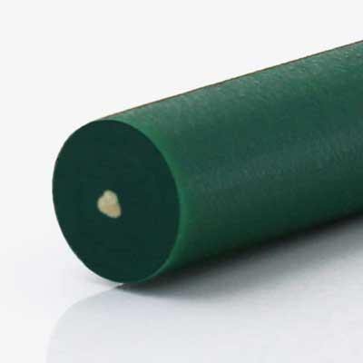 Rundriemen green reinforced aramid