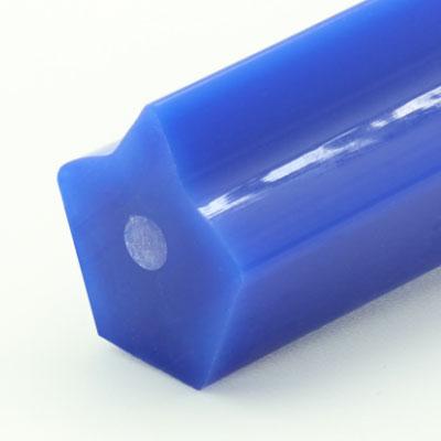 Spitzkeilriemen, blau, zugträger glasfaser
