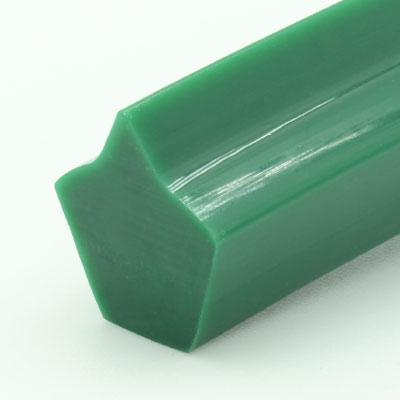 Spitzkeilriemen, grün, Form1